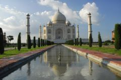 Mausoleum of the Taj Mahal in Agra